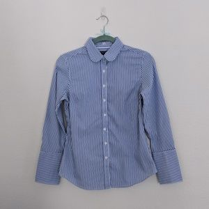 NEW Banana Republic Rounded Collar Riley Shirt
